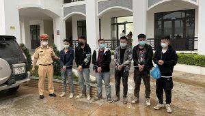 Bắt giữ 6 người nhập cảnh trái phép ở Lạng Sơn